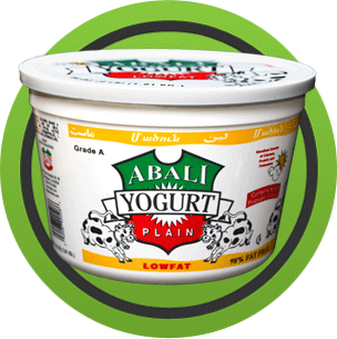Abali Plain Lowfat Yogurt (1-Gallon)