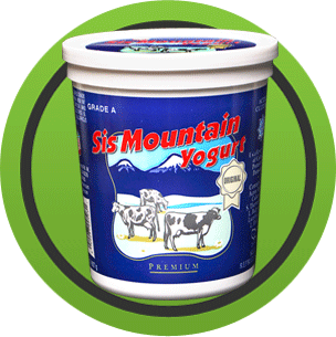 Sis Mountain Yogurt - Original Flavor (1/2-Gallon)